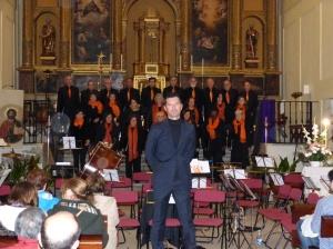 Concierto de Música Sacra en Algete de la Coral Ofelia Nieto