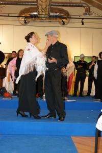 Virginio y Visita en pleno duelo musical....
